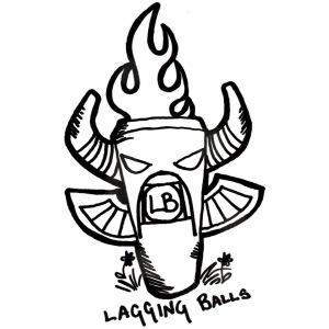 Lagging Balls Original Artwork by Thyst