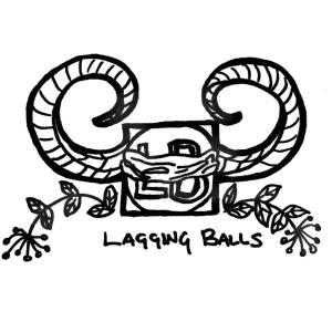 Lagging Balls Orig Artwork by Thyst