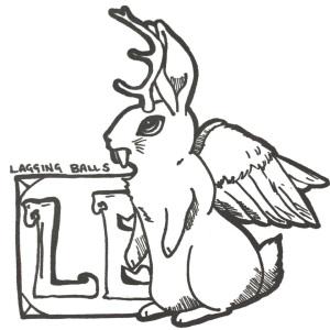 Original Artwork for Lagging Balls Episode 18