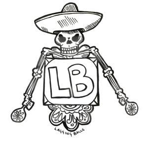 Original artwork by Thyst for Lagging Balls podcast episode 24